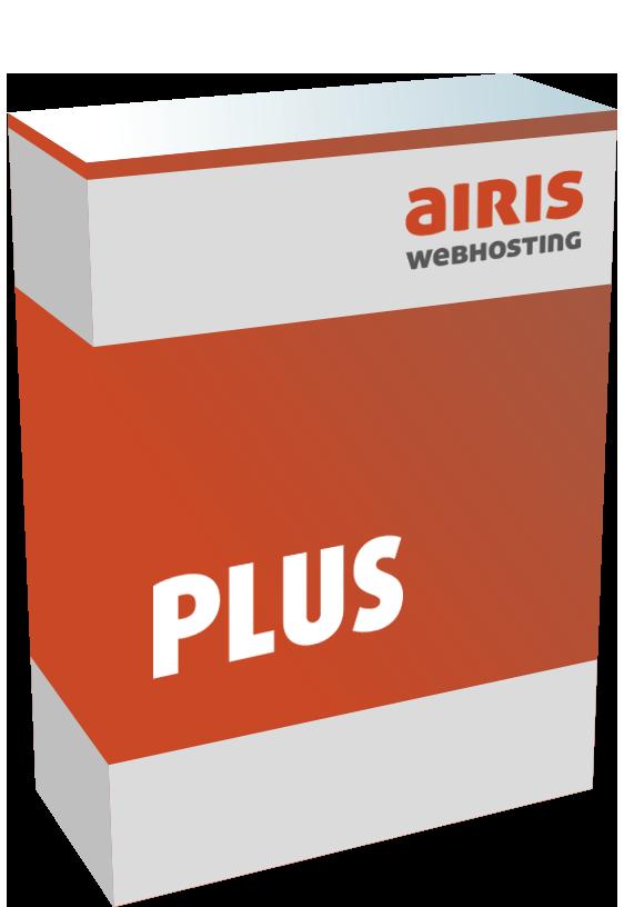 Webhosting Paket airis PLUS