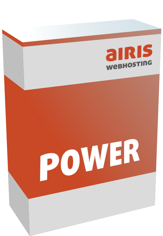 Webhosting Paket airis POWER