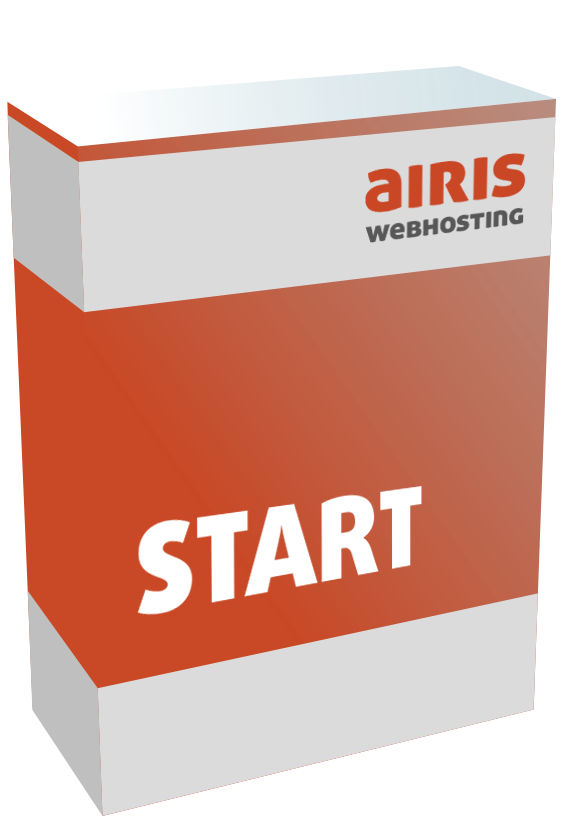 Webhosting Paket airis START